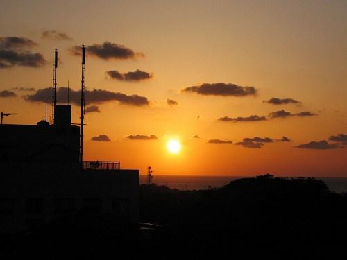 夕陽が目に沁みるぜ.jpg